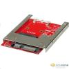 """ROLINE mSATA SSD -> 2.5"""" beépítő adapter /11.03.1567-10/"""