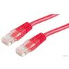 ROLINE Patch kábel UTP CAT.5e 0,5m (piros) (21.15.0521)