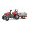 Rolly Toys Junior pedálos traktor utánfutóval