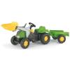 Rolly Toys Rolly Kid-X pedálos markolós traktor utánfutóval