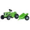 Rolly Toys Rolly Kiddy Futura pedálos traktor utánfutóval
