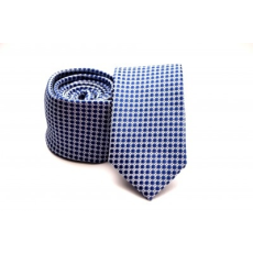 Rossini Prémium slim nyakkendõ -  Kék pöttyös