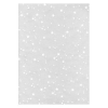 Rössler Papier GmbH and Co. KG Rössler A/4 design levél papír tr. fehér csillagok