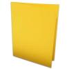 Rössler Papier GmbH and Co. KG Rössler B/6 karton  2 részes 120/240x169 mm 220gr. okker
