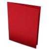 Rössler Papier GmbH and Co. KG Rössler B/6 karton  2 részes 120/240x169 mm 220gr. piros