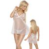 Roxana Babydoll & String S/White