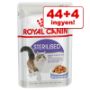 Royal Canin 44 + 4 ingyen! 48 x 85 g Royal Canin - Kitten Instinctive aszpikban