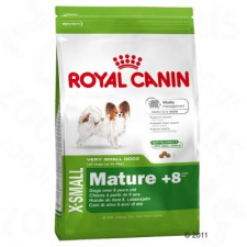 Royal Canin X-Small Mature 8+ - 3 x 3 kg kutyaeledel