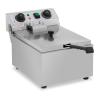 ROYAL CATERING Vendéglátóipari fritőz - 10 liter - időzítő - 230 V