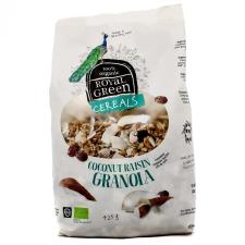 Royal green bio müzli kókuszos granola 425 g csokoládé és édesség