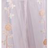 Rózsaszín színátmenetes organza kész függöny, Rózsa/0016/Cikksz:01122090
