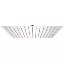 Rozsdamentes acél zuhanyrózsa 40x40 cm négyszögletes kád, zuhanykabin