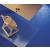 RS OFFICE Székalátét, szőnyegre, E forma, 200x120 cm,