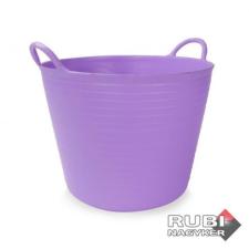 Rubi műanyag vödör 25 liter mályva (88710) kőműves és burkoló szerszám