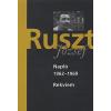 Ruszt József Napló, 1962-1969