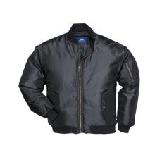 S535 - Pilóta kabát - fekete