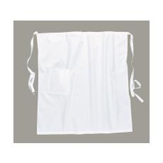 S794 - Zsebes derék kötény - fehér