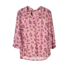 S.Oliver Comma női Blúz - Virág #rózsaszín