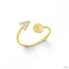 S.Oliver ékszer Női gyűrű ezüst arany cirkónia 201266 50 (15.9 mm Ă?) gyűrű
