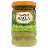 Sacla' bazsalikomos tésztaszósz 190 g