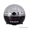 SAL Diszkó lámpa és multimédia lejátszó DL 6BT MP3 fájlok lejátszása USB/microSD tárolóról