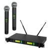 SAL Mikrofon szett , vez. nélküli, 100m, LCD MVN-900