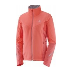 Salomon Escape Jkt W Fluo Coral L