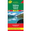 Salzburg tartomány Top 10 Tipp autótérkép - f&b OE 66