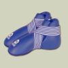 Saman Lábfejvédő, Saman, tépőzáras,  PU, kék