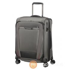 SAMSONITE PRO-DLX5  Gurulós négykerekű  bőrönd 55/20  bővíthető  Szürke