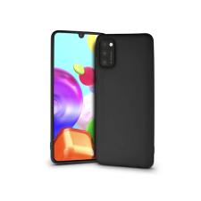 Samsung A415F Galaxy A41 szilikon hátlap - Soft - fekete tok és táska
