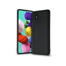 Samsung A515F Galaxy A51 szilikon hátlap - Soft Premium - fekete tok és táska