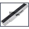 Samsung AA-PB9NC5B 4400 mAh 6 cella fehér notebook/laptop akku/akkumulátor utángyártott