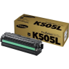 Samsung CLT-K505L Lézertoner SL-C2620DW, SL-C2670FW nyomtatókhoz, SAMSUNG, fekete, 6k
