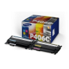 Samsung CLT-P406C Lézertoner multipack CLP 365,CLX 3305 nyomtatókhoz, SAMSUNG b+c+m+y, 1*1,5K+3*1K