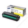 Samsung CLT-Y506L Lézertoner CLP 680ND, CLX 6260 nyomtatókhoz, SAMSUNG sárga, 3,5k (TOSAM680YH)
