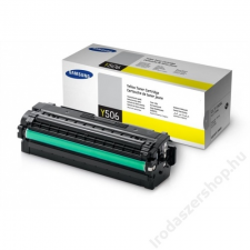 Samsung CLT-Y506L Lézertoner CLP 680ND, CLX 6260 nyomtatókhoz, SAMSUNG sárga, 3,5k (TOSAM680YH) nyomtatópatron & toner
