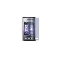 Samsung D980 kijelző védőfólia* mobiltelefon előlap