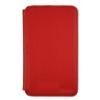 Samsung EF-C1B1NBECSTD oldalra nyíló támasztós gyári bőrtok Galaxy Note Tab 5.3-hoz piros (N7000)*
