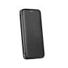 Samsung Forcell Elegance Samsung G960 Galaxy S9 oldalra nyíló mágneses könyv tok szilikon belsővel feke
