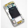 Samsung G925 S6 Edge középkeret fehér