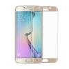 Samsung G928 Galaxy S6 Edge+ 3D hajlított előlapi üvegfólia arany