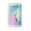Samsung G928 Galaxy S6 Edge+ 3D hajlított előlapi üvegfólia fehér