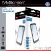 Samsung Galaxy A3 (2017) SM-A320F, Kijelzővédő fólia, ütésálló fólia, MyScreen Protector L!te, Flexi Glass, Clear, 1 db / csomag