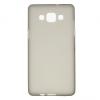 Samsung Galaxy A5 SM-A500F, TPU szilikon tok, füstszínű