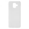 Samsung Galaxy A6 (2018) SM-A600F, Műanyag hátlap védőtok, gumírozott, fehér
