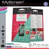 Samsung Galaxy A7 SM-A700F, Kijelzővédő fólia, MyScreen Protector, Clear Prémium / Matt, ujjlenyomatmentes, 2 db / csomag