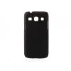 Samsung Galaxy Core Plus G350 / Trend 3 G3502, Műanyag hátlap védőtok, fekete