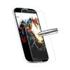 Samsung Galaxy E7 SM-E700F, Kijelzővédő fólia, ütésálló fólia, Tempered Glass (edzett üveg), Clear