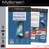 Samsung Galaxy Note 7 SM-N930F, Kijelzővédő fólia, ütésálló fólia (az íves részre NEM hajlik rá), MyScreen Protector, Hybridglass, Tempered Glass (edzett üveg), Clear, 1 db / csomag